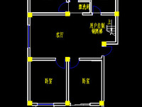 白洋名筑2室2厅 黄 金楼层 小区配套齐全 环境优美性价比高