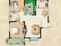 丽阳兰庭精装三室二厅框架房105万出售紧邻十中城关小学