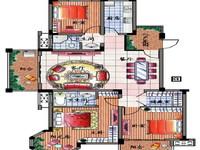 WQ三江明珠精装三房,双卫双阳台!小区环境好!保养好!价格合理,看房方便!