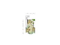 紫悦府毛坯3房出售,边户,独立楼梯,超大平台,可做4房,户型相当好,双阳台,急售