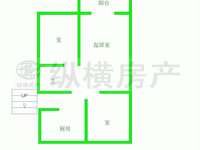 清风小区 多层二楼 单价低至6800一平 自住保养好