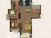 高档小区 仁盛世纪星城 毛坯四房,楼层好,采光好,户型好