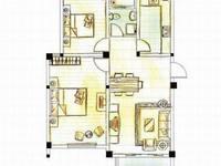 维多利亚花园二室二厅双阳台毛坯,送楼上同等面积,有大平台,楼上可改二室二厅