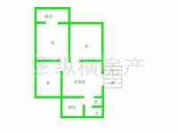 WQ市政府宿舍紧凑三房出售!地理位置优越!楼层极好!价格看上可谈!诚心出售!