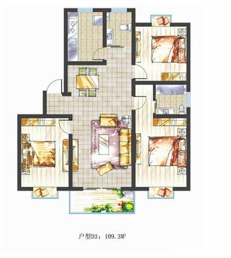 市中心学府雅筑精装修中间楼层采光好户型好送16平方储藏室看房方便房东急售